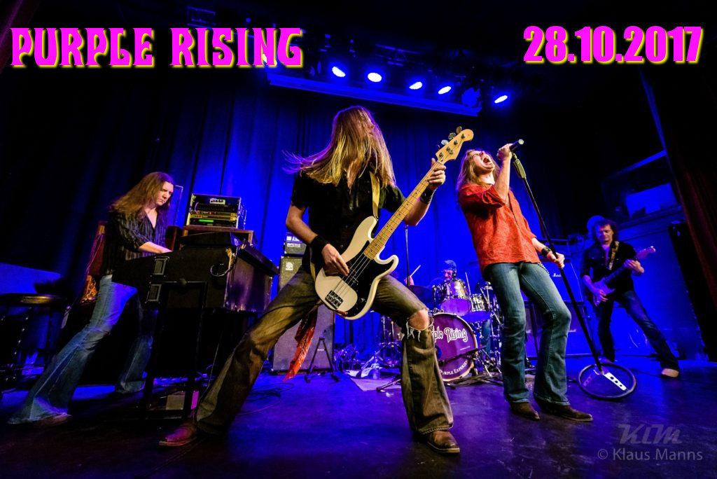 Purple Rising Konzert am 23.01.2016 im Café Hahn